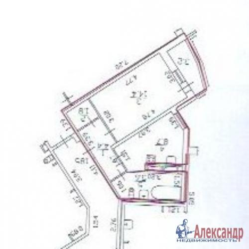 1-комнатная квартира (38м2) на продажу по адресу Королева пр., 7— фото 5 из 5