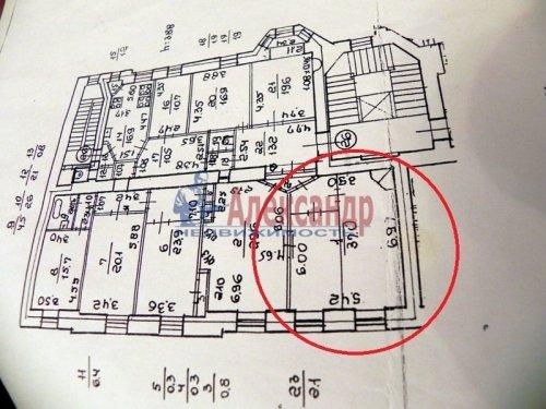 2 комнаты в 5-комнатной квартире (265м2) на продажу по адресу Маяковского ул., 21— фото 7 из 7