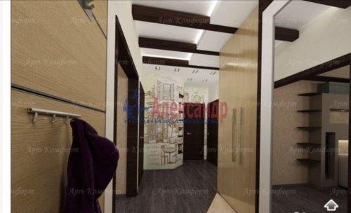 3-комнатная квартира (94м2) на продажу по адресу Луначарского пр., 11— фото 9 из 10
