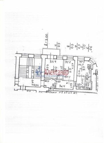 2-комнатная квартира (51м2) на продажу по адресу Невский пр., 13— фото 3 из 10