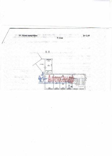 4-комнатная квартира (73м2) на продажу по адресу Хасанская ул., 8— фото 6 из 6