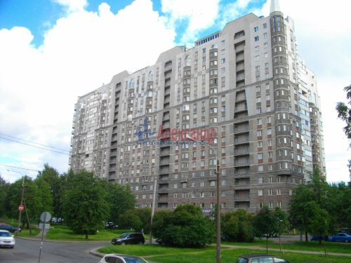 1-комнатная квартира (47м2) на продажу по адресу Поликарпова аллея, 2— фото 1 из 12