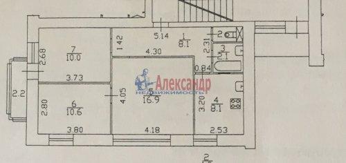3-комнатная квартира (57м2) на продажу по адресу Раевского пр., 20— фото 31 из 31