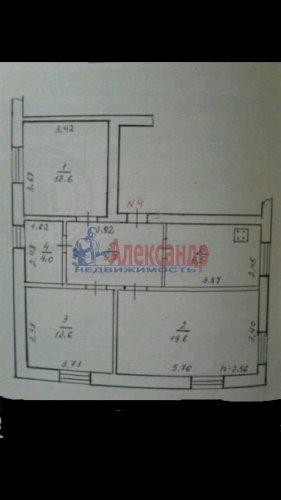 3-комнатная квартира (52м2) на продажу по адресу Элисенваара пос.— фото 1 из 1