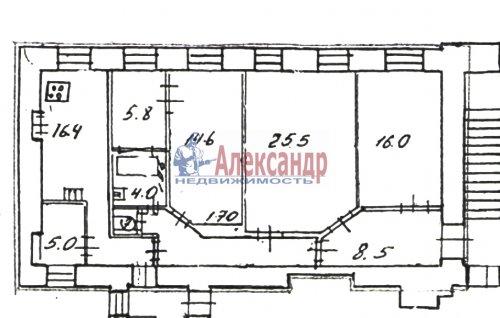 4-комнатная квартира (104м2) на продажу по адресу 11 линия В.О.— фото 8 из 8
