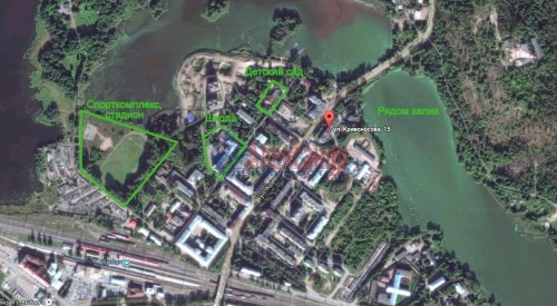 3-комнатная квартира (56м2) на продажу по адресу Выборг г., Кривоносова ул., 15— фото 13 из 13