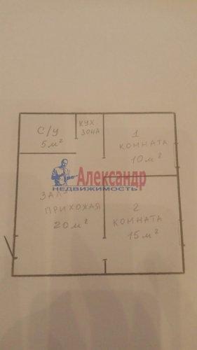 3-комнатная квартира (50м2) на продажу по адресу Писарева ул., 4— фото 10 из 10