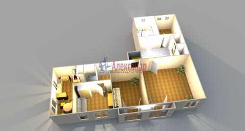 4-комнатная квартира (193м2) на продажу по адресу Ломоносов г., Еленинская ул., 24— фото 4 из 16