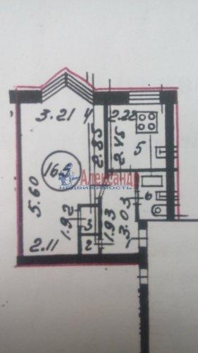 1-комнатная квартира (29м2) на продажу по адресу Раевского пр., 10— фото 10 из 13