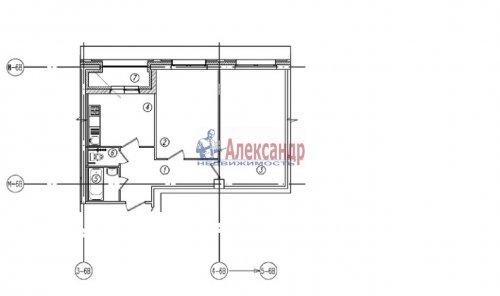 2-комнатная квартира (60м2) на продажу по адресу Кременчугская ул., 17— фото 1 из 1