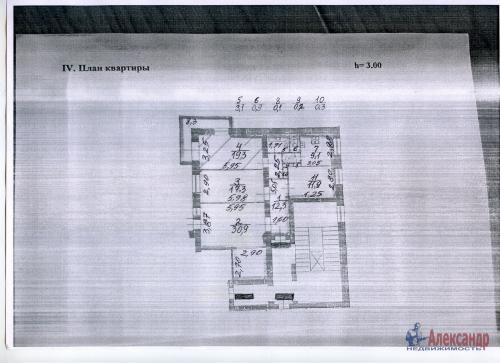 4-комнатная квартира (105м2) на продажу по адресу Краснопутиловская ул., 12— фото 10 из 12