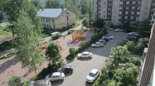2-комнатная квартира (57м2) на продажу по адресу Мурино пос., Оборонная ул., 26— фото 1 из 14