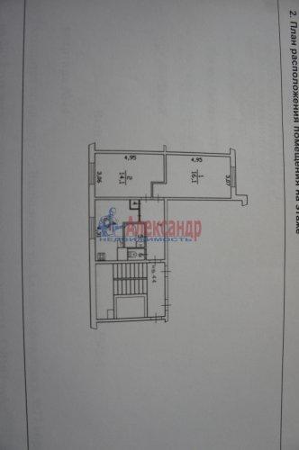 2-комнатная квартира (50м2) на продажу по адресу Всеволожск г., Александровская ул., 77— фото 7 из 7