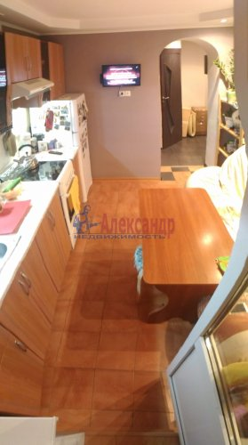 1-комнатная квартира (40м2) на продажу по адресу Мурино пос., Оборонная ул., 2— фото 12 из 18