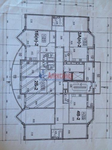 2-комнатная квартира (67м2) на продажу по адресу Выборгское шос., 15— фото 14 из 14