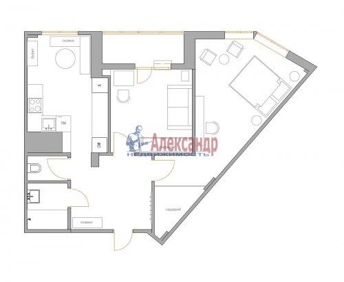 2-комнатная квартира (69м2) на продажу по адресу Шуваловский пр., 41— фото 28 из 28