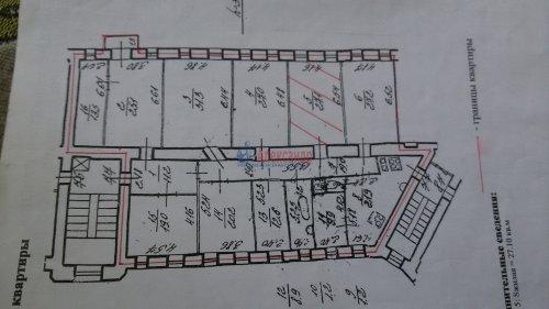 10-комнатная квартира (276м2) на продажу по адресу Льва Толстого пл., 1/3— фото 1 из 1