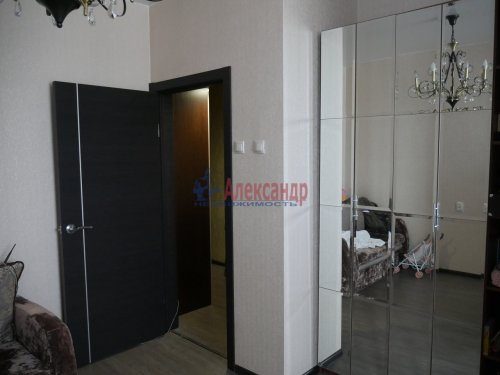 1-комнатная квартира (45м2) на продажу по адресу Всеволожск г., Доктора Сотникова ул., 15— фото 4 из 6