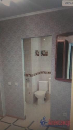 1-комнатная квартира (37м2) на продажу по адресу Мурино пос., Новая ул., 7— фото 8 из 19