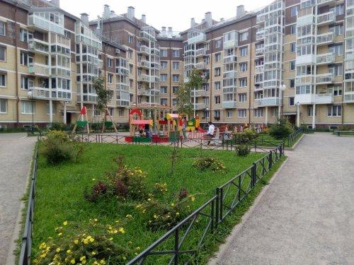 1-комнатная квартира (37м2) на продажу по адресу Всеволожск г., Центральная ул., 4— фото 7 из 10