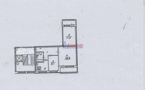 3-комнатная квартира (58м2) на продажу по адресу Северный пр., 24— фото 19 из 19