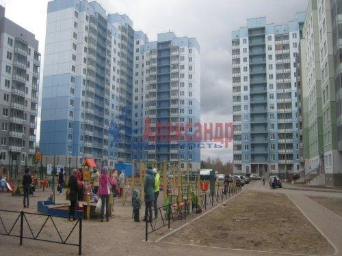 1-комнатная квартира (37м2) на продажу по адресу Всеволожск г., Крымская ул., 4— фото 1 из 5