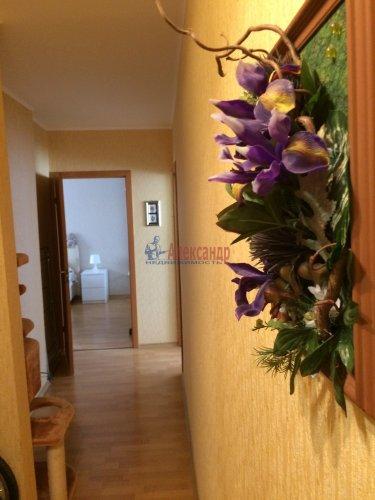 3-комнатная квартира (80м2) на продажу по адресу Пушкин г., Ростовская ул., 6— фото 10 из 16