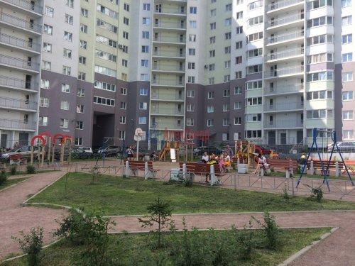 1-комнатная квартира (51м2) на продажу по адресу Бугры пос., Полевая ул., 16— фото 1 из 14