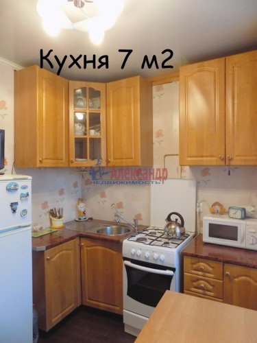 1-комнатная квартира (34м2) на продажу по адресу Выборг г., Приморское шос., 2б— фото 13 из 23