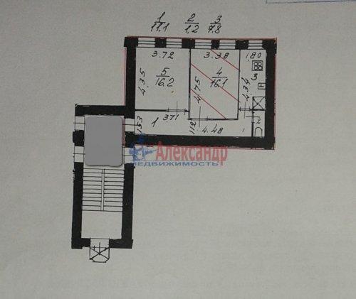 2-комнатная квартира (52м2) на продажу по адресу Рыбацкая ул., 6/8— фото 6 из 6
