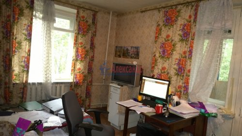 2-комнатная квартира (42м2) на продажу по адресу Пушкин г., Железнодорожная ул., 34— фото 1 из 11