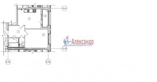 1-комнатная квартира (39м2) на продажу по адресу Кременчугская ул., 19— фото 1 из 1