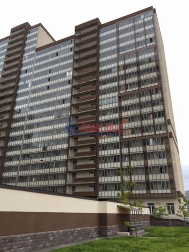 1-комнатная квартира (34м2) на продажу по адресу Мурино пос., Охтинская аллея, 4— фото 1 из 18