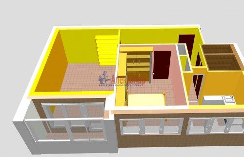 2-комнатная квартира (44м2) на продажу по адресу Композиторов ул., 24— фото 3 из 16