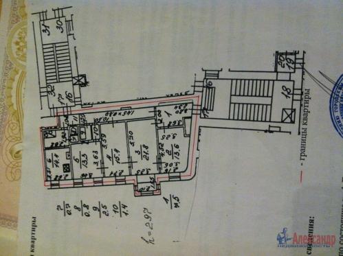4-комнатная квартира (103м2) на продажу по адресу 8 Советская ул., 47— фото 2 из 6