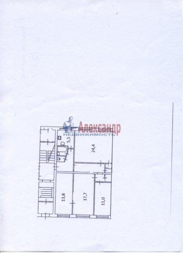 4-комнатная квартира (90м2) на продажу по адресу Будапештская ул., 17— фото 12 из 19