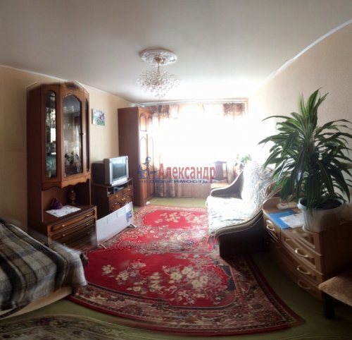 1-комнатная квартира (33м2) на продажу по адресу Приладожский пгт., 3— фото 2 из 9