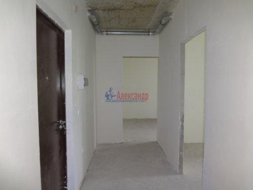 2-комнатная квартира (60м2) на продажу по адресу Мурино пос., Охтинская аллея, 14— фото 9 из 17