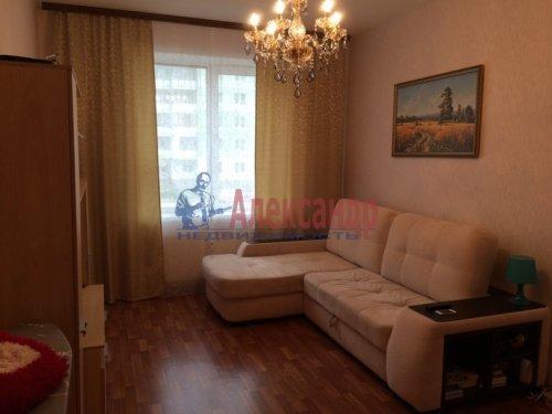 1-комнатная квартира (39м2) на продажу по адресу Всеволожск г., Знаменская ул., 3— фото 3 из 6