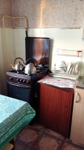2-комнатная квартира (52м2) на продажу по адресу Кузьмоловский пгт., Молодёжная ул., 13А— фото 6 из 9