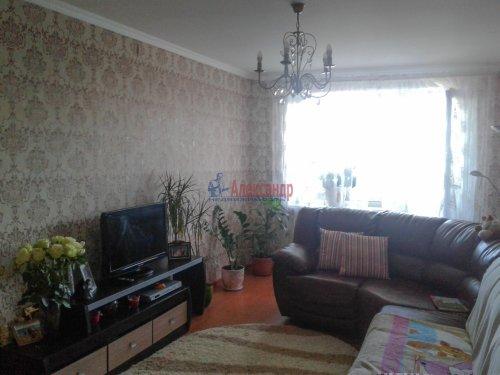 2-комнатная квартира (57м2) на продажу по адресу Всеволожск г., Ленинградская ул., 3— фото 5 из 5