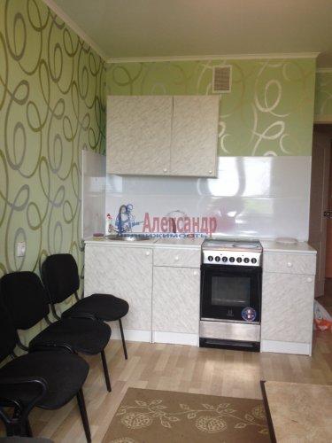 1-комнатная квартира (38м2) на продажу по адресу Бугры пос., Школьная ул., 11— фото 3 из 7