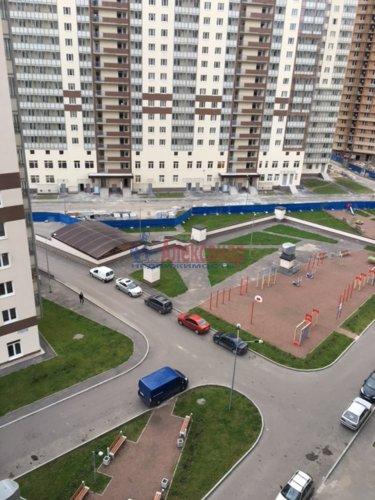 1-комнатная квартира (34м2) на продажу по адресу Мурино пос., Охтинская аллея, 4— фото 11 из 18