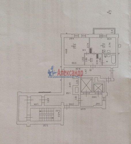1-комнатная квартира (41м2) на продажу по адресу Савушкина ул., 117— фото 14 из 14