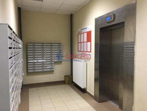 1-комнатная квартира (34м2) на продажу по адресу Мурино пос., Охтинская аллея, 4— фото 15 из 18