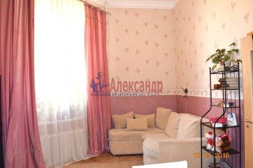 2 комнаты в 6-комнатной квартире (190м2) на продажу по адресу Английский пр., 26— фото 1 из 15