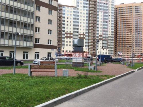 1-комнатная квартира (34м2) на продажу по адресу Мурино пос., Охтинская аллея, 4— фото 17 из 18
