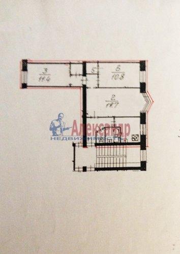 3-комнатная квартира (57м2) на продажу по адресу Шевченко ул., 34— фото 8 из 8