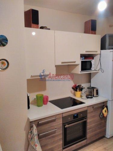 1-комнатная квартира (36м2) на продажу по адресу Кудрово дер., Ленинградская ул., 9— фото 2 из 13