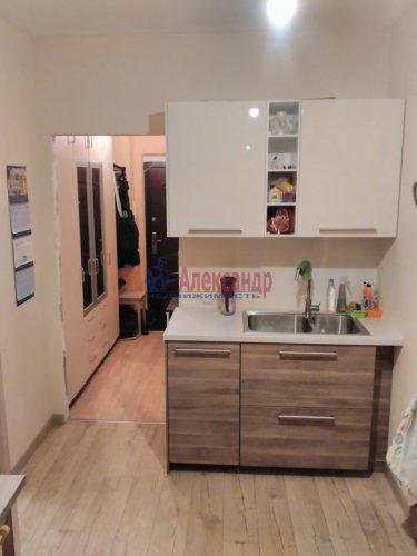 1-комнатная квартира (36м2) на продажу по адресу Кудрово дер., Ленинградская ул., 9— фото 3 из 13